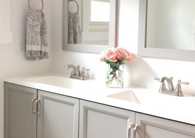 A clean renovated bathroom by Elite Property Renovations